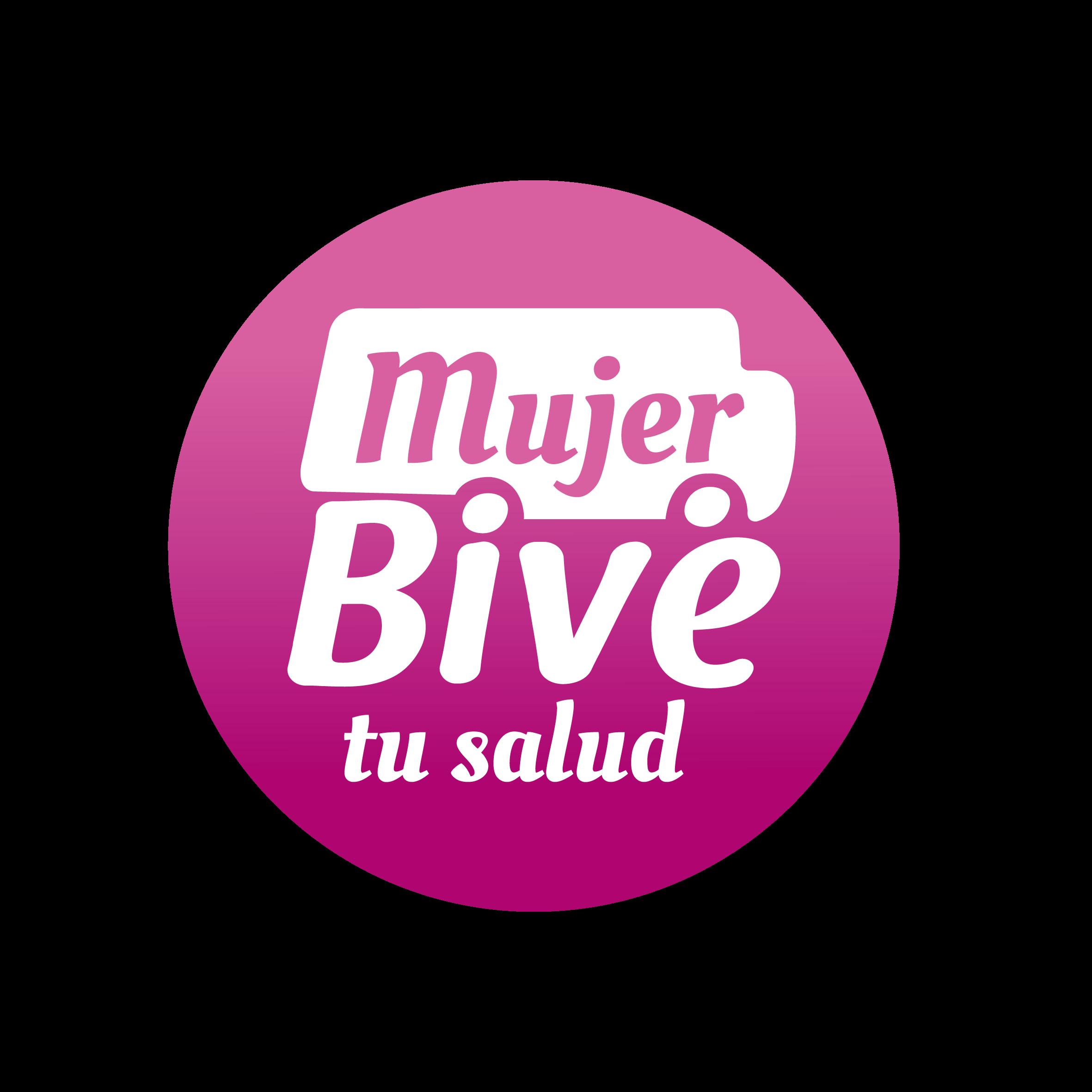 Logo Mujer Bive tu salud